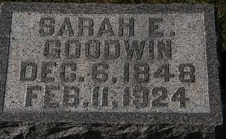 GOODWIN, SARAH E. - Morrow County, Ohio | SARAH E. GOODWIN - Ohio Gravestone Photos