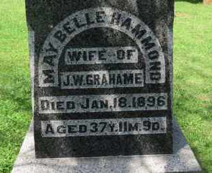 GRAHAME, MAY BELLE - Morrow County, Ohio | MAY BELLE GRAHAME - Ohio Gravestone Photos