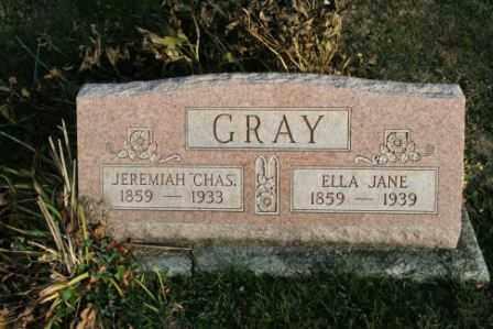 GRAY, ELLA JANE - Morrow County, Ohio   ELLA JANE GRAY - Ohio Gravestone Photos