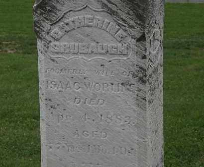 GRUBAUGH, CATHERINE - Morrow County, Ohio | CATHERINE GRUBAUGH - Ohio Gravestone Photos