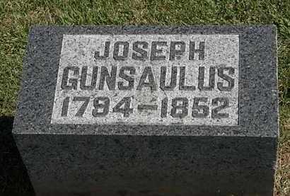GUNSAULUS, JOSEPH - Morrow County, Ohio | JOSEPH GUNSAULUS - Ohio Gravestone Photos