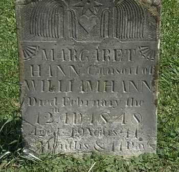 HAHN, MARGARET - Morrow County, Ohio | MARGARET HAHN - Ohio Gravestone Photos