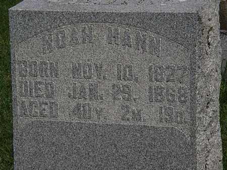 HAHN, NOAH - Morrow County, Ohio   NOAH HAHN - Ohio Gravestone Photos