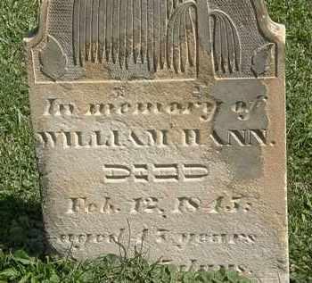 HAHN, WILLIAM - Morrow County, Ohio | WILLIAM HAHN - Ohio Gravestone Photos