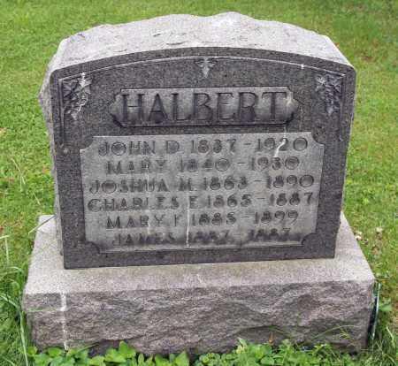 HALBERT, MARY - Morrow County, Ohio | MARY HALBERT - Ohio Gravestone Photos