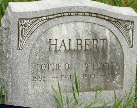 HALBERT, LOTTIE O. - Morrow County, Ohio | LOTTIE O. HALBERT - Ohio Gravestone Photos