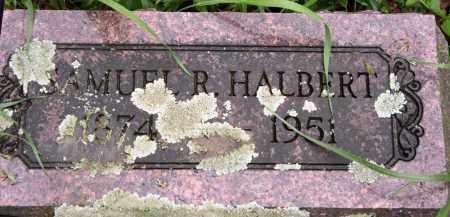 HALBERT, SAMUEL R. - Morrow County, Ohio | SAMUEL R. HALBERT - Ohio Gravestone Photos