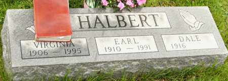 HALBERT, VIRGINIA - Morrow County, Ohio | VIRGINIA HALBERT - Ohio Gravestone Photos