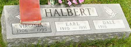 HALBERT, DALE - Morrow County, Ohio | DALE HALBERT - Ohio Gravestone Photos