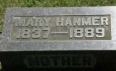 HANMER, MARY - Morrow County, Ohio   MARY HANMER - Ohio Gravestone Photos