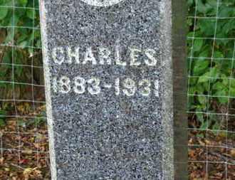 HARDEN, CHARLES - Morrow County, Ohio | CHARLES HARDEN - Ohio Gravestone Photos