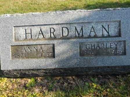 HARDMAN, CHARLEY - Morrow County, Ohio   CHARLEY HARDMAN - Ohio Gravestone Photos