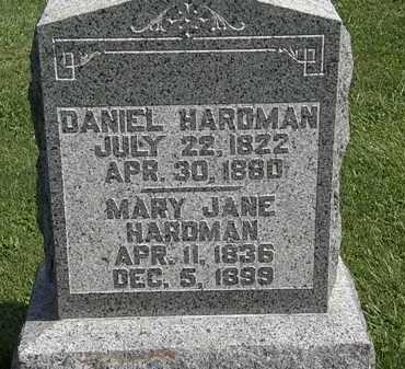 HARDMAN, MARY JANE - Morrow County, Ohio | MARY JANE HARDMAN - Ohio Gravestone Photos