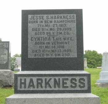 HARKNESS, JESSE S. - Morrow County, Ohio | JESSE S. HARKNESS - Ohio Gravestone Photos
