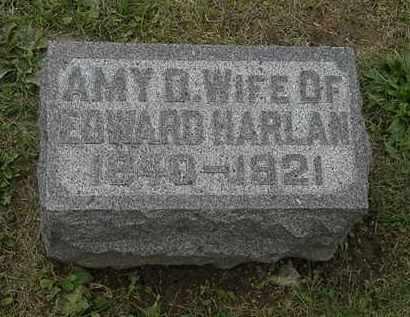 HARLAN, AMY D. - Morrow County, Ohio | AMY D. HARLAN - Ohio Gravestone Photos