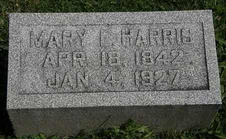 HARRIS, MARY L. - Morrow County, Ohio | MARY L. HARRIS - Ohio Gravestone Photos
