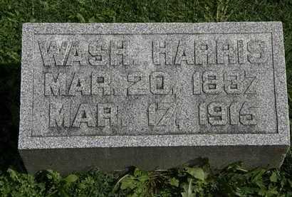 HARRIS, WASH. - Morrow County, Ohio | WASH. HARRIS - Ohio Gravestone Photos