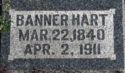 HART, BANNER - Morrow County, Ohio   BANNER HART - Ohio Gravestone Photos