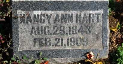HART, NANCY ANN - Morrow County, Ohio   NANCY ANN HART - Ohio Gravestone Photos