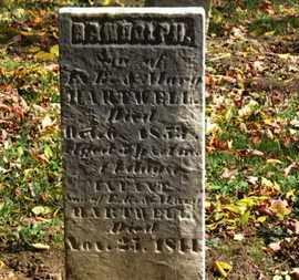 HARTWELL, RANDOLPH - Morrow County, Ohio | RANDOLPH HARTWELL - Ohio Gravestone Photos