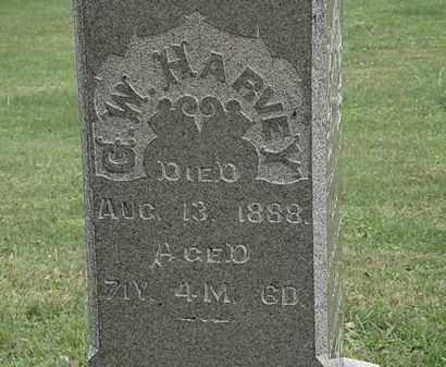 HARVEY, G.W. - Morrow County, Ohio | G.W. HARVEY - Ohio Gravestone Photos