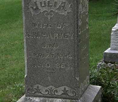 HARVEY, JULIA - Morrow County, Ohio | JULIA HARVEY - Ohio Gravestone Photos