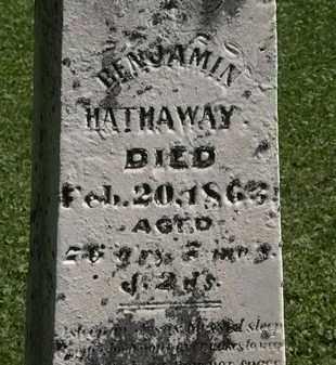 HATHAWAY, BENJAMIN - Morrow County, Ohio | BENJAMIN HATHAWAY - Ohio Gravestone Photos