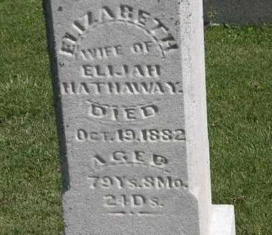 HATHAWAY, ELIJAH - Morrow County, Ohio | ELIJAH HATHAWAY - Ohio Gravestone Photos