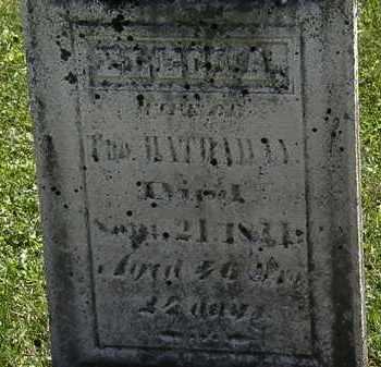 HATHAWAY, ELECTA - Morrow County, Ohio   ELECTA HATHAWAY - Ohio Gravestone Photos