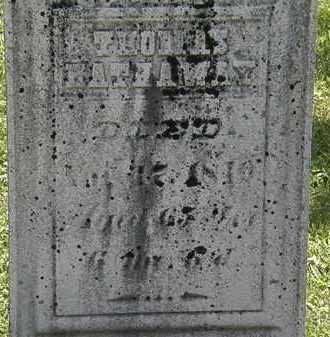HATHAWAY, THOMAS - Morrow County, Ohio | THOMAS HATHAWAY - Ohio Gravestone Photos