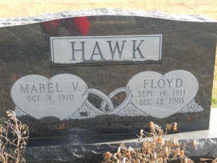 HAWK, MABEL V - Morrow County, Ohio | MABEL V HAWK - Ohio Gravestone Photos