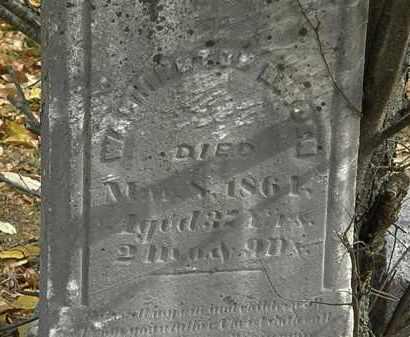HAYDEN, WASHINGTON - Morrow County, Ohio | WASHINGTON HAYDEN - Ohio Gravestone Photos