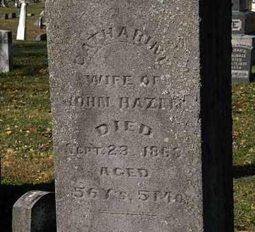 HAZEN, CATHARINE - Morrow County, Ohio | CATHARINE HAZEN - Ohio Gravestone Photos