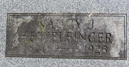 HEFFELFINGER, NANCY J. - Morrow County, Ohio | NANCY J. HEFFELFINGER - Ohio Gravestone Photos