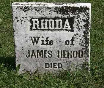 HEROD, JAMES - Morrow County, Ohio | JAMES HEROD - Ohio Gravestone Photos