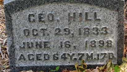 HILL, GEO - Morrow County, Ohio   GEO HILL - Ohio Gravestone Photos