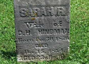HINDMAN, D.H. - Morrow County, Ohio | D.H. HINDMAN - Ohio Gravestone Photos