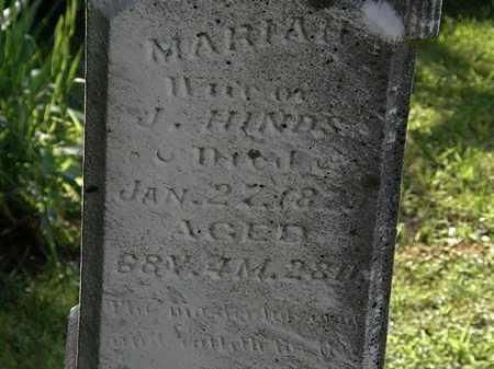 HINDS, MARIAH - Morrow County, Ohio | MARIAH HINDS - Ohio Gravestone Photos