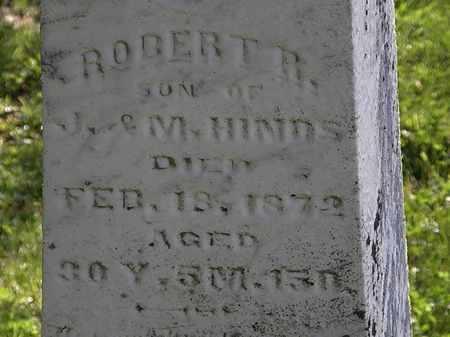 HINDS, ROBERT R. - Morrow County, Ohio | ROBERT R. HINDS - Ohio Gravestone Photos