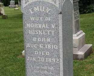 HISKETT, EMILY - Morrow County, Ohio | EMILY HISKETT - Ohio Gravestone Photos