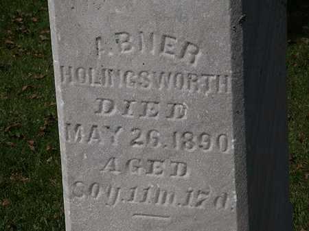 HOLINGSWORTH, ABNER - Morrow County, Ohio | ABNER HOLINGSWORTH - Ohio Gravestone Photos