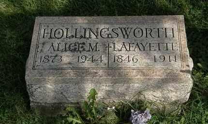 JOLLINGSWORTH, LAFAYETTE - Morrow County, Ohio | LAFAYETTE JOLLINGSWORTH - Ohio Gravestone Photos