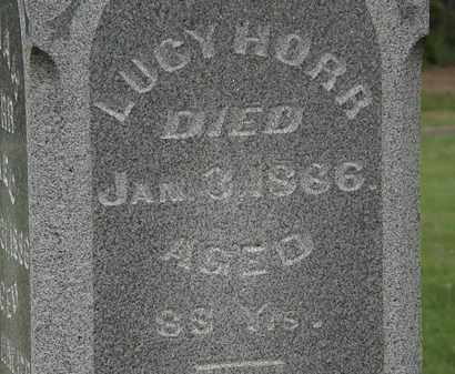 HORR, LUCY - Morrow County, Ohio | LUCY HORR - Ohio Gravestone Photos
