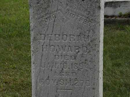 HOWARD, DEBORAH - Morrow County, Ohio | DEBORAH HOWARD - Ohio Gravestone Photos