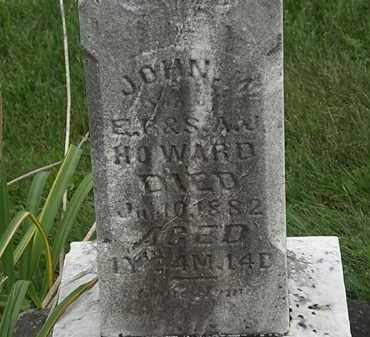 HOWARD, JOHN M. - Morrow County, Ohio | JOHN M. HOWARD - Ohio Gravestone Photos