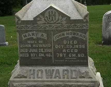 HOWARD, JOHN - Morrow County, Ohio | JOHN HOWARD - Ohio Gravestone Photos