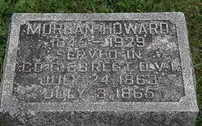 HOWARD, MORGAN - Morrow County, Ohio | MORGAN HOWARD - Ohio Gravestone Photos