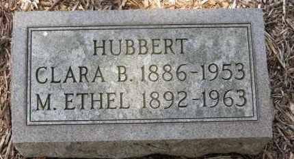 HUBBERT, CLARA B. - Morrow County, Ohio | CLARA B. HUBBERT - Ohio Gravestone Photos