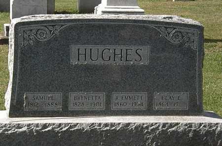 HUGHES, CLAY E. - Morrow County, Ohio | CLAY E. HUGHES - Ohio Gravestone Photos