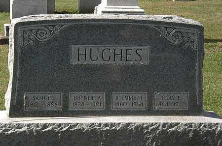 HUGHES, R. EMMETT - Morrow County, Ohio | R. EMMETT HUGHES - Ohio Gravestone Photos